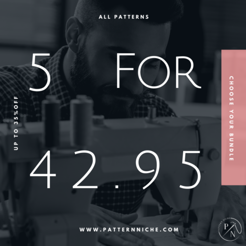 5 Patterns for $42.95