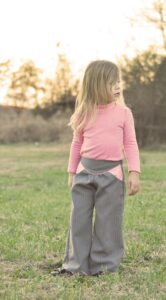 How to adjust Kensington trousers for skinny kids