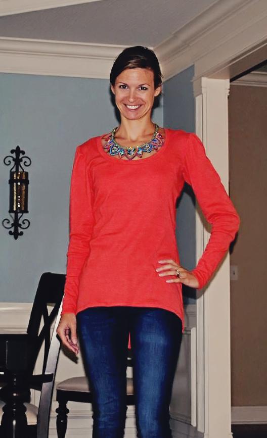 Womens Henley Shirt