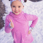 Girls Lisse Cowl and Hoodie