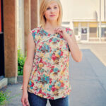 Bali Blouse and Sunset Cami