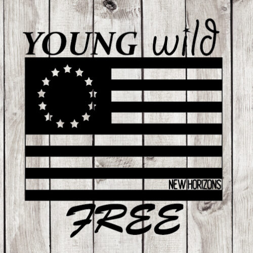 Young Wild and Free cut file