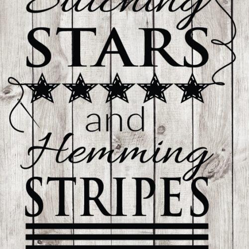 Stars and Stripes cut file