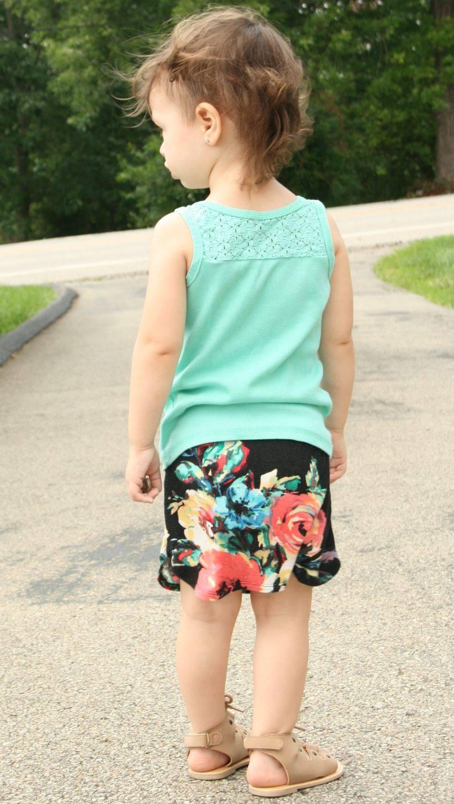Girls Pierside Pencil Skirt