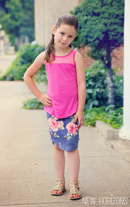 3badad8721 Girls Pierside Pencil Skirt - New Horizons Designs