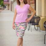 Pierside Pencil Skirt