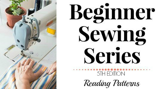 Beginner Sewing Series: Reading Patterns