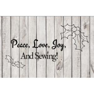 Peace, Love, Joy cut file
