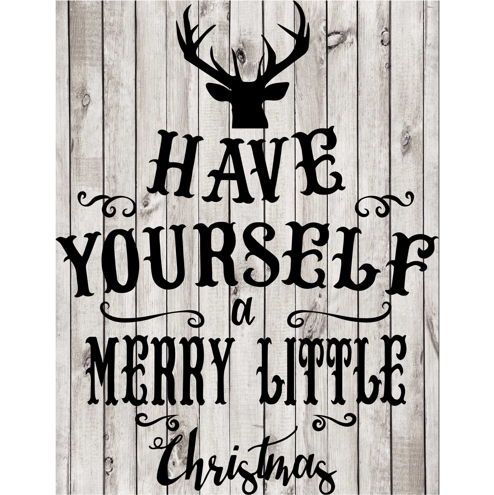 Have Yourself A Merry Little Christmas Svg.Merry Christmas Cut File New Horizons Designs