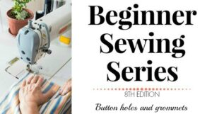 Beginner Sewing Series: Buttonholes and grommets
