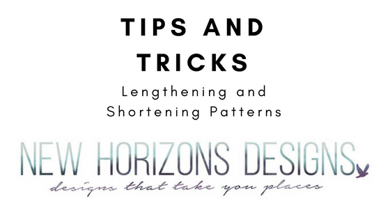 Tips for Lengthening and Shortening Patterns