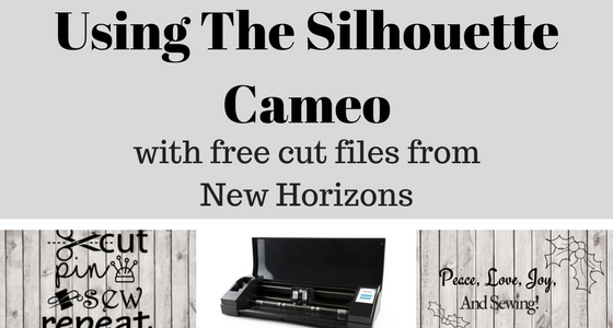 using new horizons free cut file with the silhouette cameo new