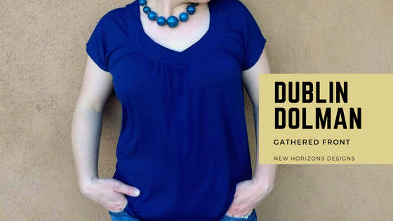Dublin Dolman Gathered Front