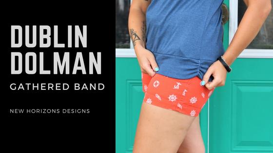 Dublin Dolman: Gathered Band