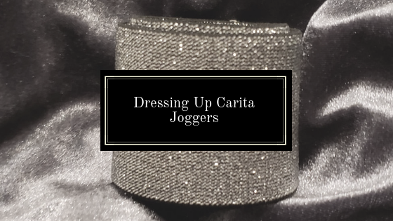 Dressing Up Carita Joggers