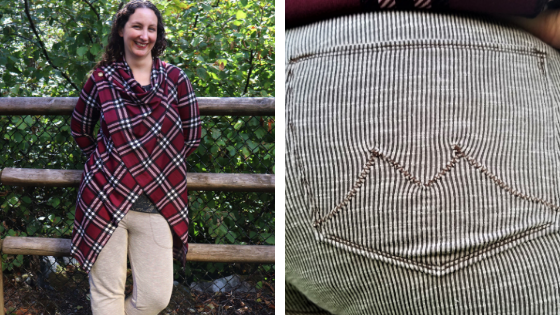 Fall Sewing and adding back pockets to Carita Joggers!