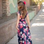 Boardwalk Wrap Dress For Girls