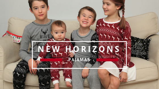 Christmas Pajamas with New Horizons Designs