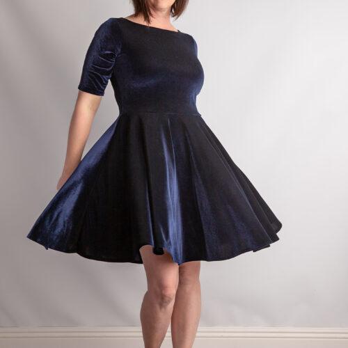 Manhattan Peplum & Dress
