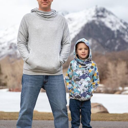 Summit Peak Hoodie Bundle (adult del and kids)