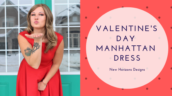 Valentine's Day Manhattan Dress