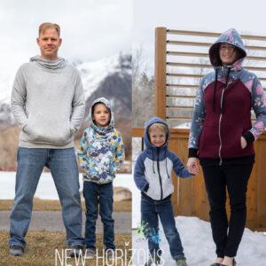 Summit Peak Hoodie Bundle (Mens, womens and kids)
