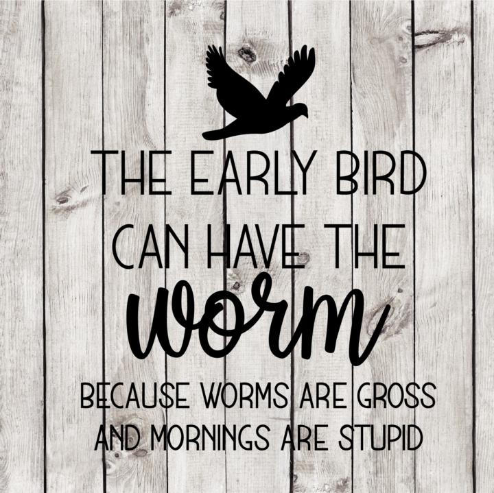 The Early Bird Cut File