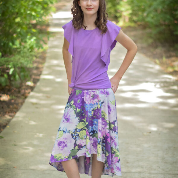 Bourbon Street Skirt (young curve)