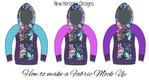 How to Make a Fabric Mock Up