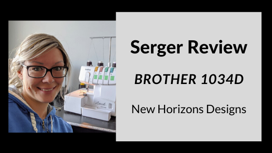 Serger Review-Brother 1034D