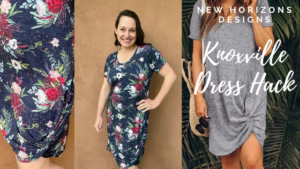 Knoxville knot dress hack