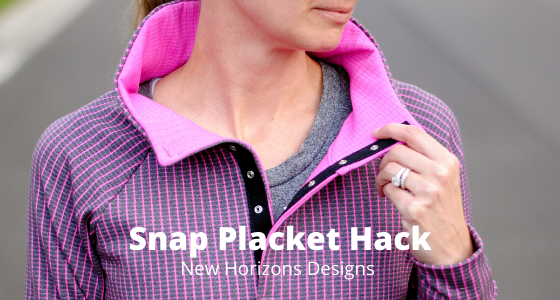 Snap placket hack