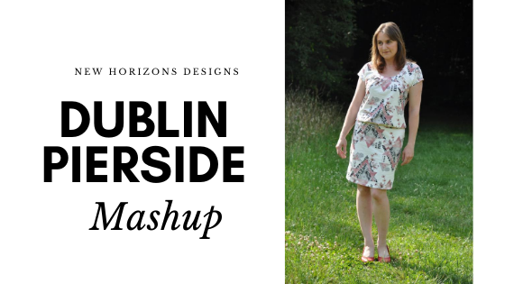 Dublin Dolman and Pierside Pencil Skirt Mashup