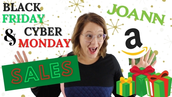 Black Friday & Cyber Monday Sewing Deals