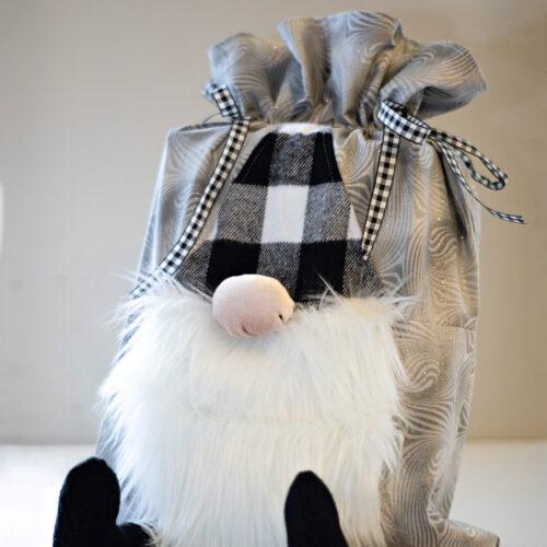 Gnome Drawstring Bag