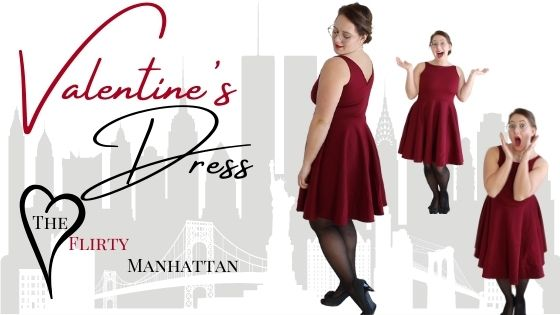 How to Adjust the Waist Seam-Valentine's Dress