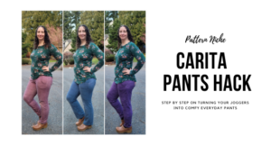 Pattern Niche Carita Pants Hack