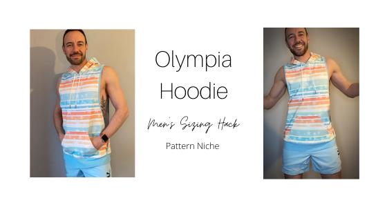 Olympia Hoodie Men's Sizing Hack