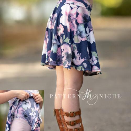 Bourbon Street Skirt (young curve)