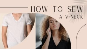 How to Sew a V neck