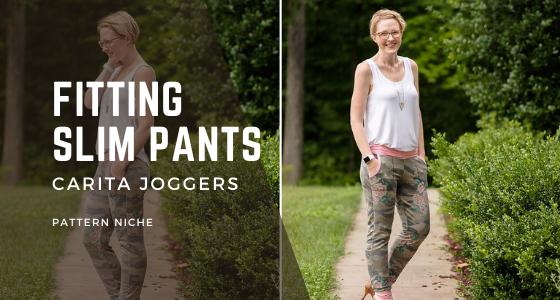 Fitting slim pants